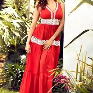 Woven Suzette Maxi dress